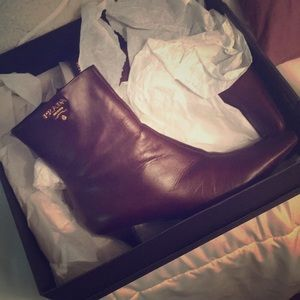 Size 5.5 Prada Boots